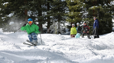 Mogul Skiing at Bumpapalooza 2015